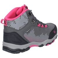 Cotswold Ducklington Lace Childrens Hiking Boots Grey / Pink